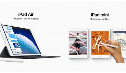 Presentados los nuevos modelos iPad Air e iPad Mini
