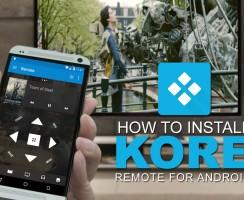 Kore Official Remote para Kodi