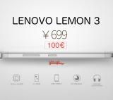 Lenovo Lemon 3, plantando cara a Xiaomi