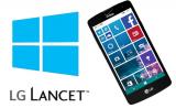 LG Lancet, nuevo Windows Phone