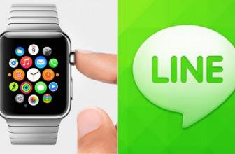 Line ya está disponible para el Apple Watch