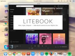 Litebook: Intel y Linux Inside; delgado, ligero y elegante