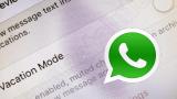 Modo Vacaciones de Whatsapp: así puedes desconectar de los grupos