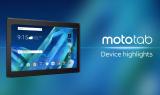 Moto Tab de Lenovo; cinco años ha durado la espera.