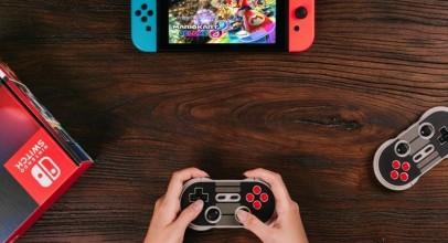 Ya puedes usar tus mandos retro 8bitdo con Nintendo Switch