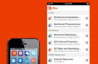 La suite ofimática de Microsoft finalmente es liberada gratis para el iPhone