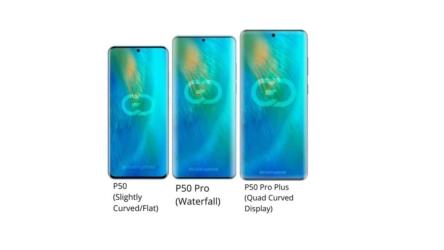 Se han filtrado las pantallas de los Huawei P50: te las mostramos