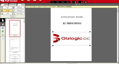 PDFescape, el Adobe Acrobat Pro DC gratuito