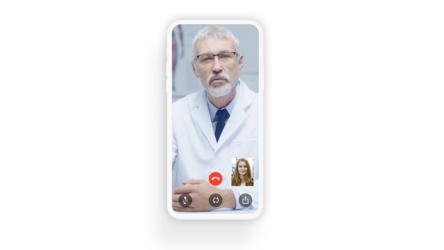 Cobertura Digital: así es el servicio que uso para llevar al médico en el móvil