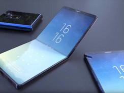 Este es el smartphone plegable de Samsung que costaría 2500 dólares