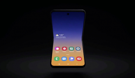 Samsung Galaxy Bloom: primera imagen oficial del nuevo móvil plegable