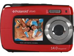 Polaroid if045, cámara compacta colorida con pantalla dual