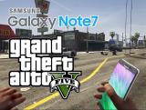 Ya puedes matar gente con el Galaxy Note 7, en GTA V
