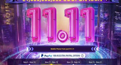 Remate final de la promoción 11.11 de Gearbest