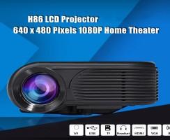 Proyector H86, un modelo muy sencillo y realmente barato