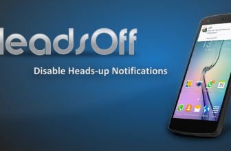 Quitar las notificaciones de Android: Headsoff