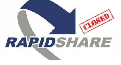 Rapidshare anuncia su cierre para el mes de marzo