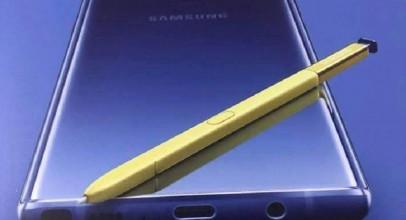 Samsung Galaxy Note 9, esta podría ser su primera imagen promocional