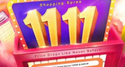 ¡Más ofertas en smartphones por el 11 del 11 en Geekbuying!