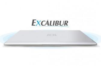 SlimBook Excálibur, forjada enteramente en aluminio