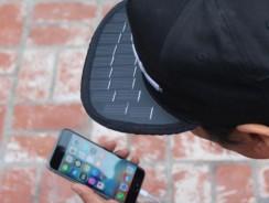 SolSol, recarga tu smartphone por la gorra