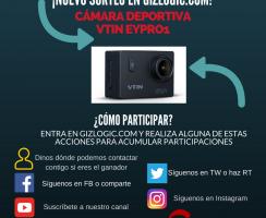 ¡Nuevo Sorteo! Llévate una cámara deportiva Vtin Eypro1 [FINALIZADO]