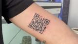 Tatuaje del QR del Certificado COVID: la última extravagancia viral