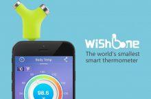 Termómetro Wishbone, nuevo gadget para cuidar tu salud