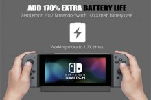 ZeroLemon, funda recargable para la Nintendo Switch.